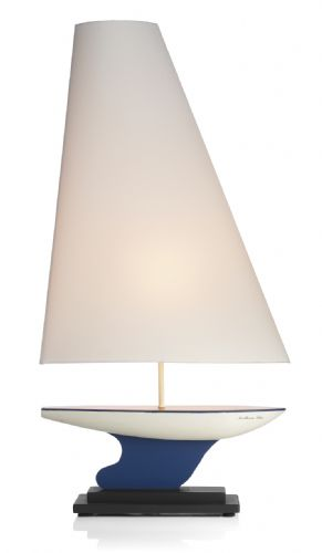 Yacht Table Lamp complete with Shade YAC4399 (Cust (Hand made, 7-10 day Delivery)